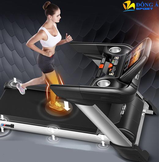 Máy chạy bộ điện phòng Gym HQ 888 AC