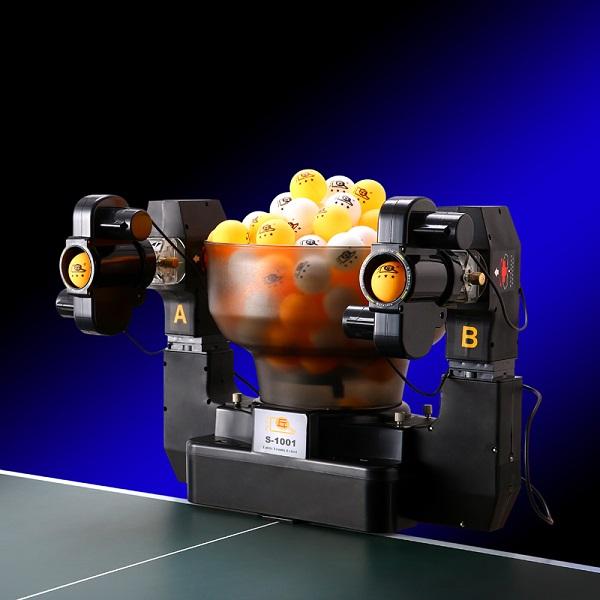 Máy bắn bóng bàn 2 nòng HP-S1001