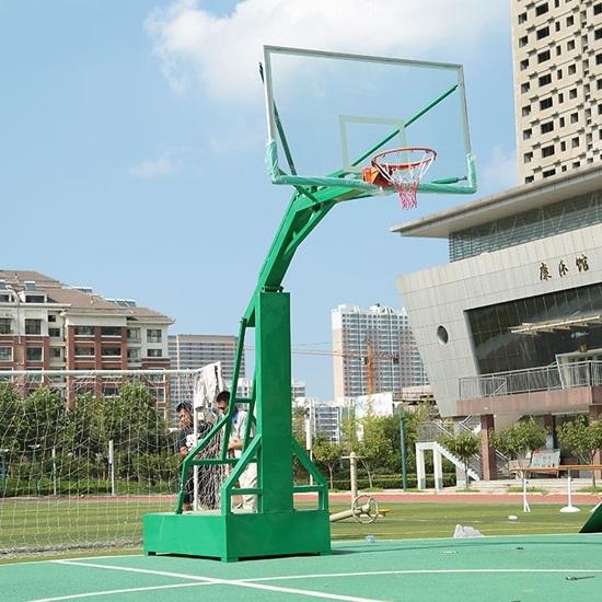 Bảng bóng rổ kính cường lực