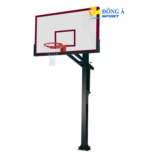 Trụ bóng rổ cố định bảng Composite có điều chỉnh chiều cao DA-08