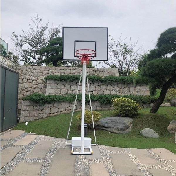 Trụ bóng rổ di động tay quay DA-10