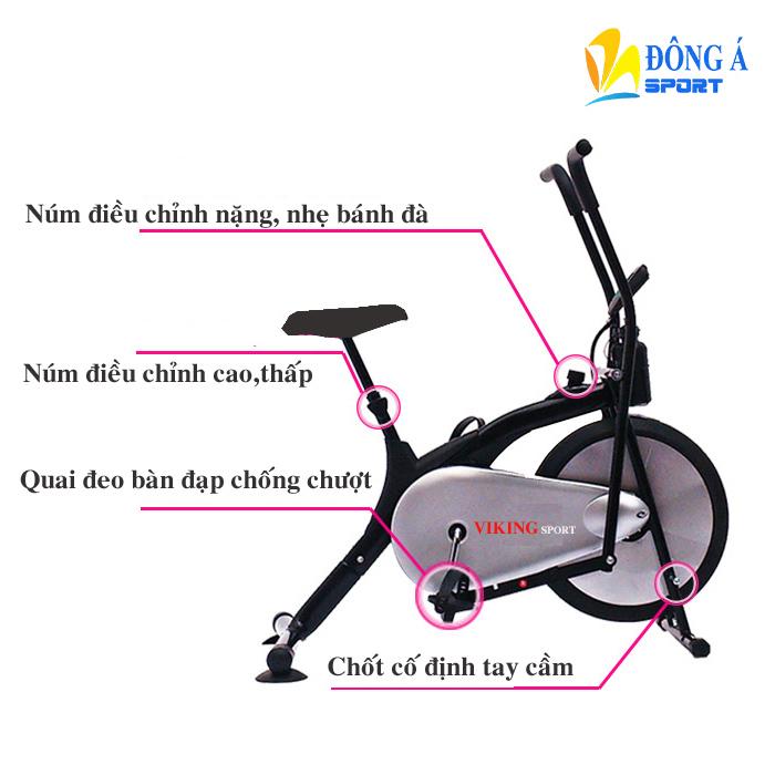 Xe đạp tập thể dục Viking VK-01