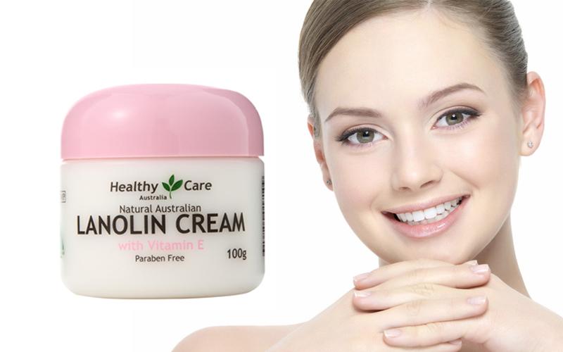 Kem dưỡng da nhau thai cừu Healthy Care Lanolin Cream with Vitamin E