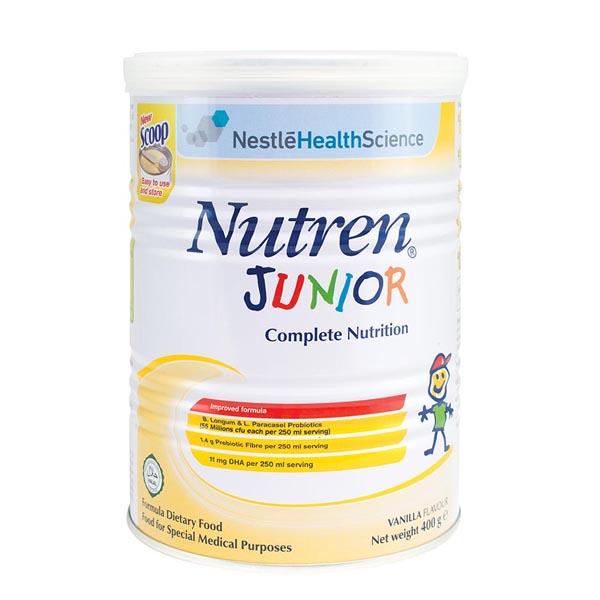 Sữa tăng cân Nutren Junior cho trẻ từ 1 - 10 tuổi