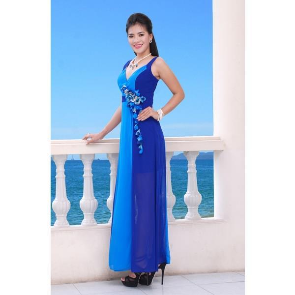Đầm Dạ Hội Trơn  - DRM0041A_01