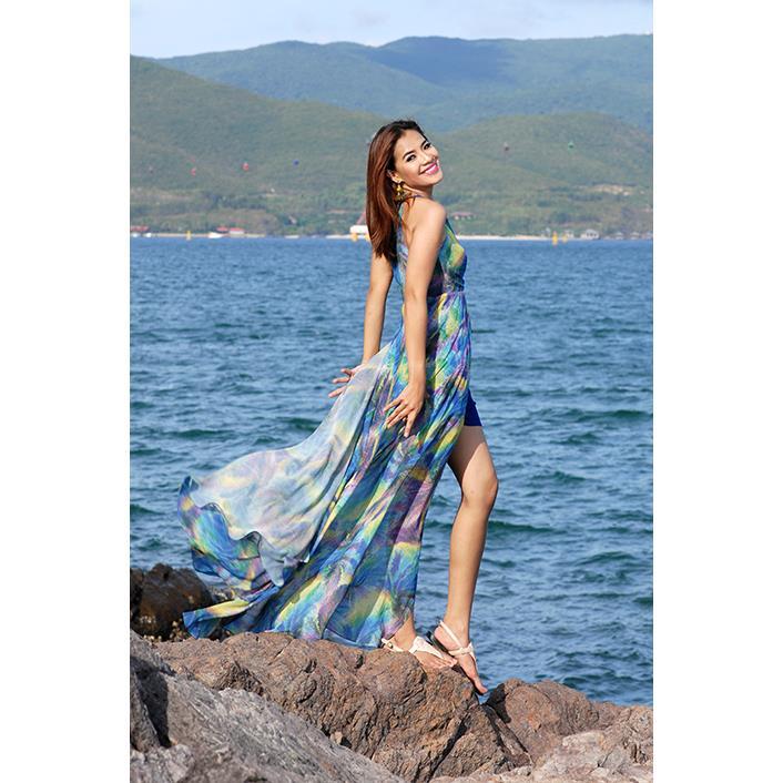 Đầm Đuôi Công DRCT0141-01