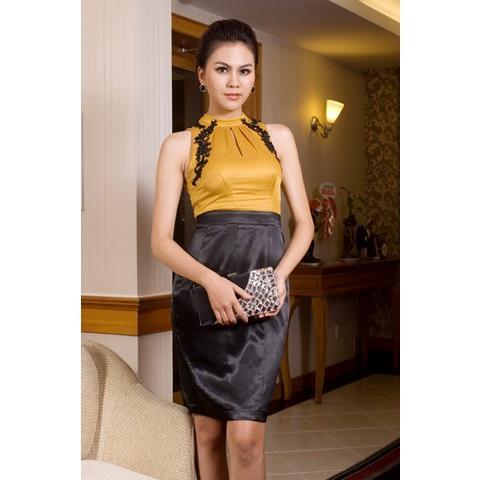 Đầm Cooktail Yếm Kết Ren DRCK0025_45