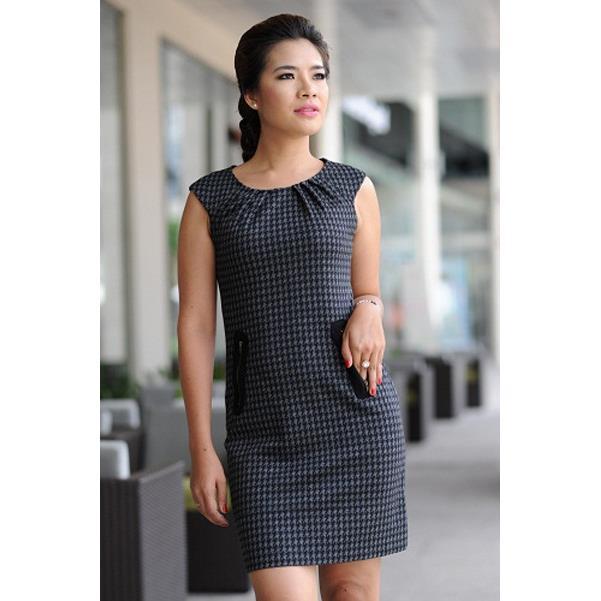 Đầm Beo Dây Kéo DRTT0067