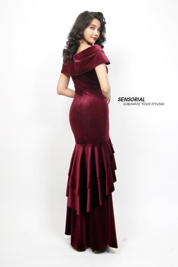 Đầm Dạ Hội SENSORIAL DRP0371A-139