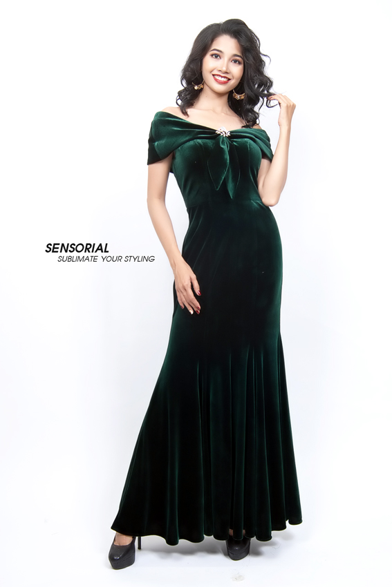 Đầm dạ Hội SENSORIAL DRP0378-33