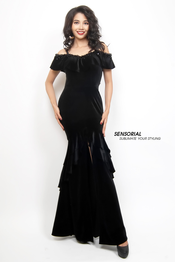 Đầm Dạ Hội SENSORIAL DRP0379A-04