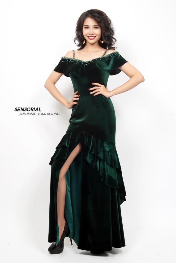 Đầm Dạ Hội SENSOIAL DRP0379A-33