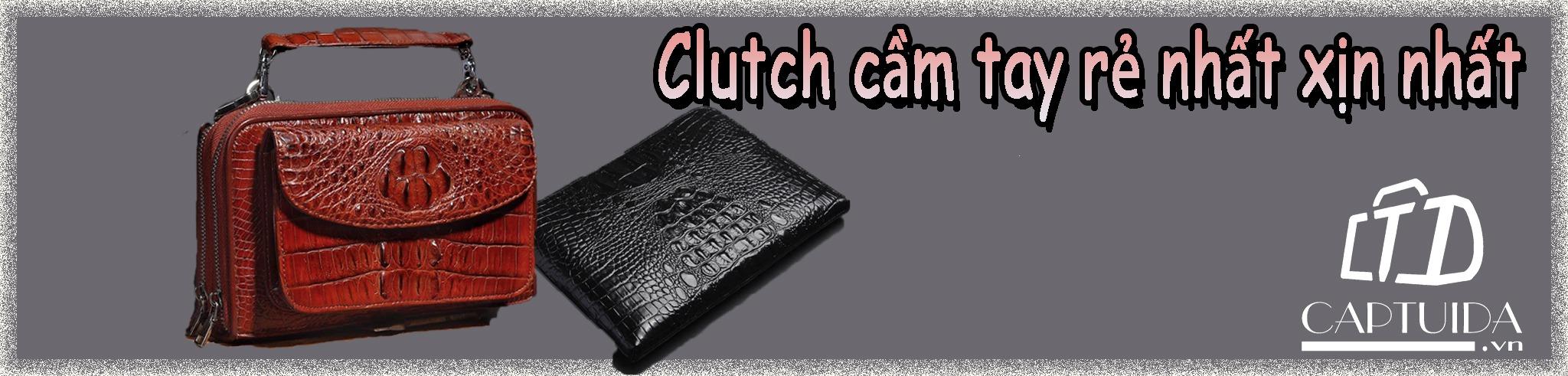 Clutch cầm tay