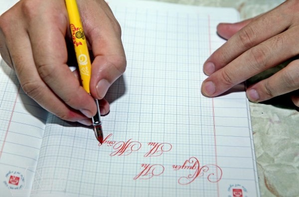 Khóa học Luyện chữ đẹp chiều thứ 4, 7