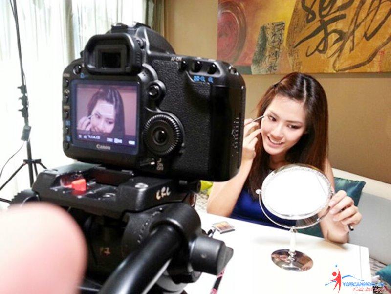 dịch vụ quay clip hướng dẫn make up