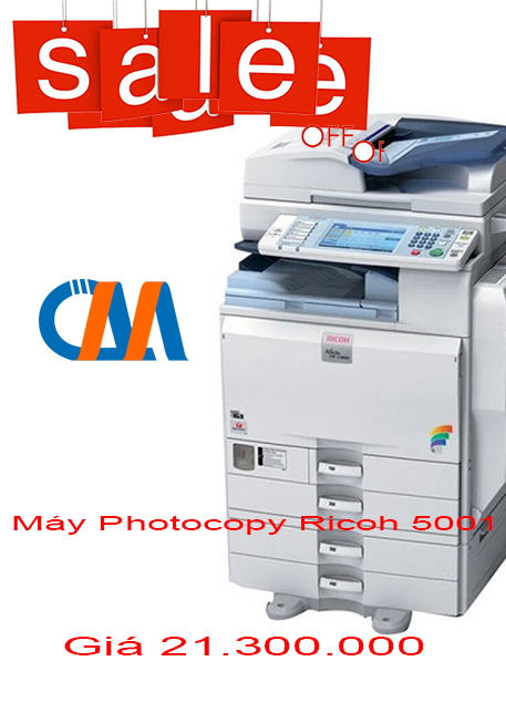 may photocopy rioch 5001