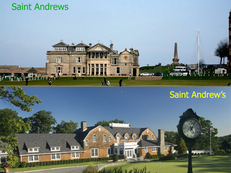 SAINT ANDREWS - SAINT ANDREW'S - SAINT ANDREWS SWING
