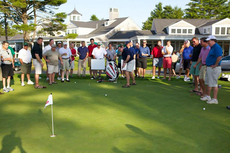PUTTER - PUTTING GREEN - PUTT OUT - PUTTING CONTEST