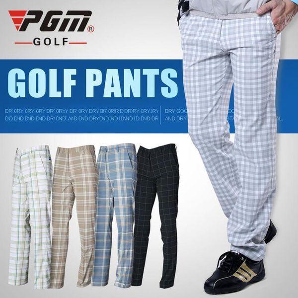 Review quần golf nam caro PGM GOLF PANTS – KUZ003