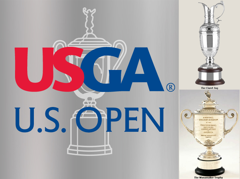 THE UNITED STATES OPEN - THE BRITISH OPEN - THE PGA CHAMPIONSHIP