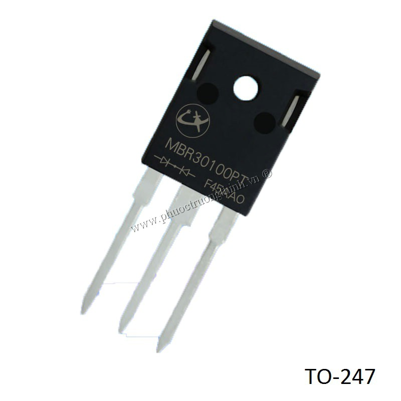 Schottky diode (Rectifier diode) MBR30100PT 30A 100V TO-247