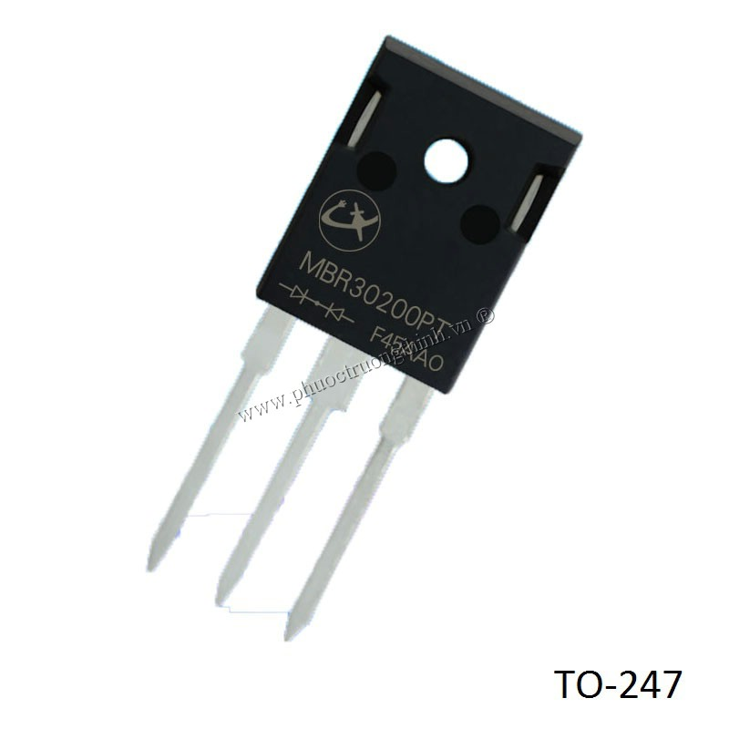 Schottky diode (Rectifier diode) MBR30200PT 30A 200V TO-247