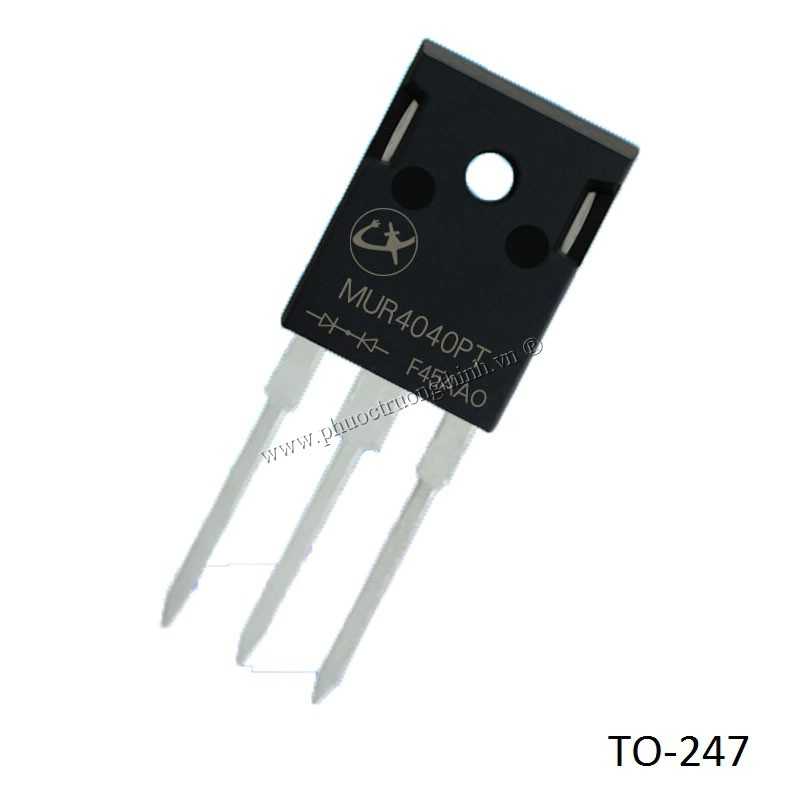 Schottky diode (Rectifier diode) MUR4040PT 40A 400V TO-247