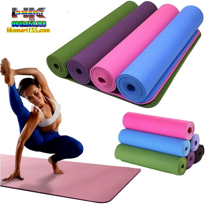 Thảm Yoga Eco Friendly TPE 8mm