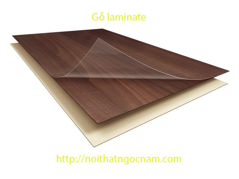 Cấu tạo của laminate gồm nhiều lớp
