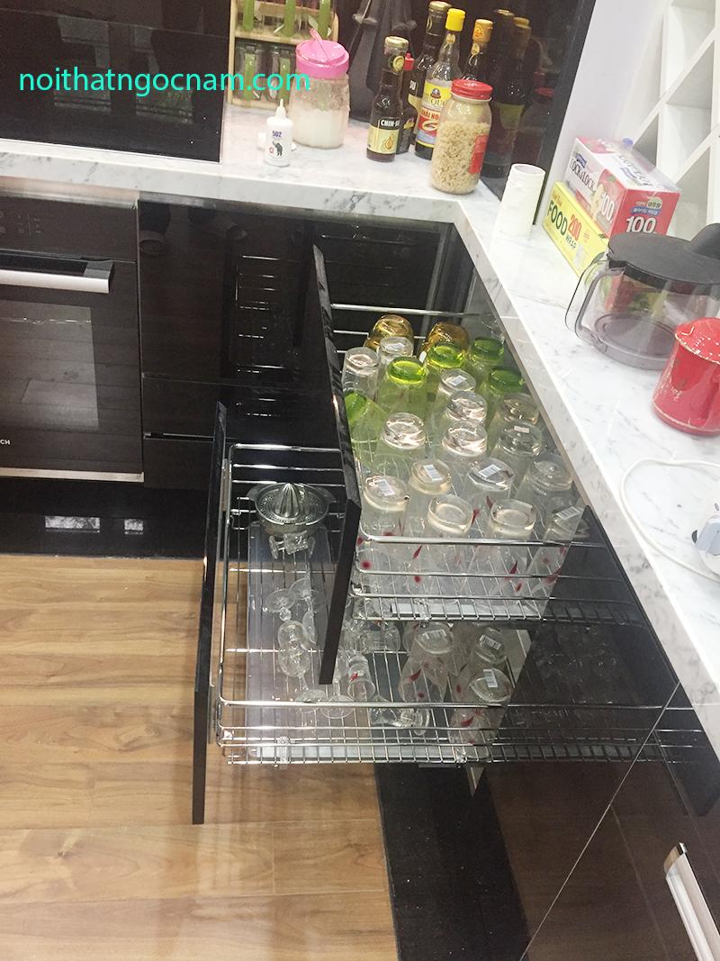 phụ kiên tủ bếp giá xoong nồi