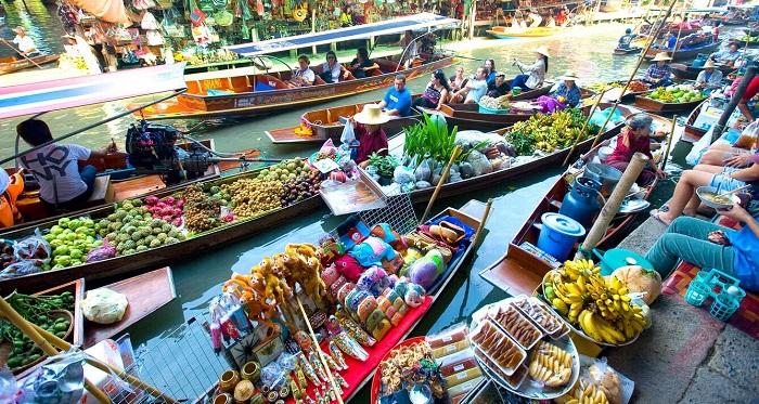 Chợ Nổi Bốn Mùa