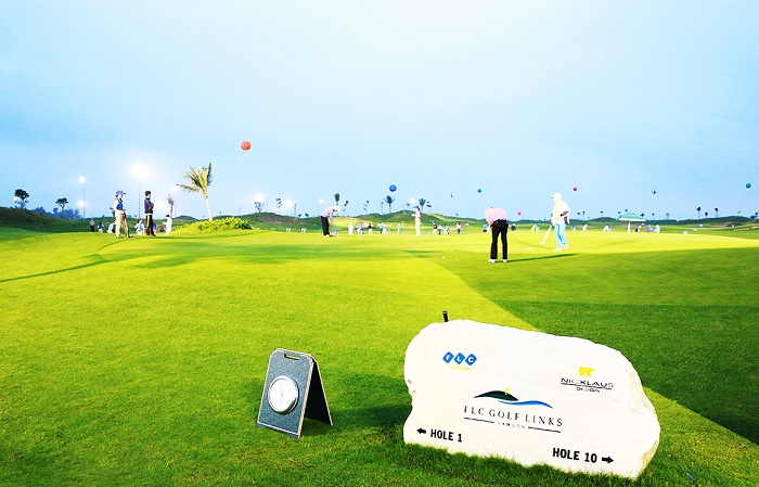 Sân Golf của FLC đượccác chuyên gia đánh giá rất cao