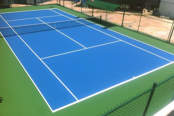 Sơn thể thao, tennis