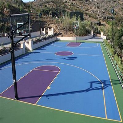 Thi công sơn epoxy các công trình thể thao: sân tennis, sân bóng rổ...