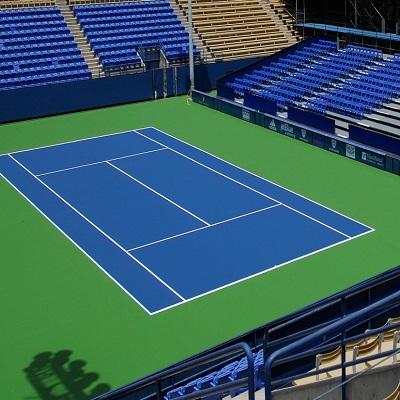 Sơn epoxy hệ sơn sân tennis