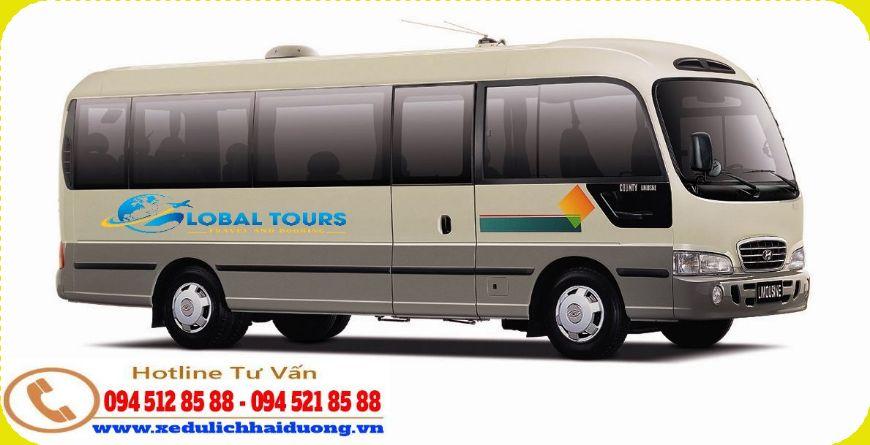 Xe du lịch giá rẻ tại Hải Dương | Cho thuê xe 29 chỗ theo tháng