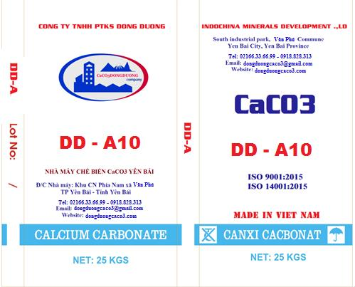 Bột đá canxi cacbonat DD - A10