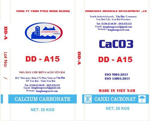 Bột đá canxi cacbonat DD - A15