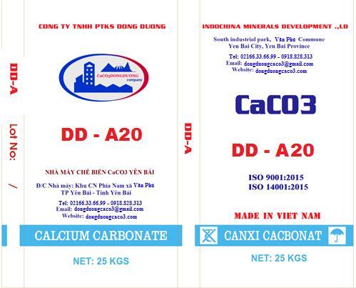 Bột đá canxi cacbonat DD - A20