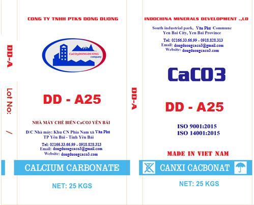 Bột đá canxi cacbonat DD - A25