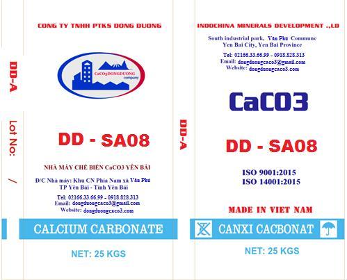 Bột đá canxi cacbonat DD - SA08