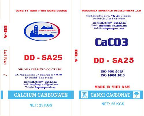 Bột đá canxi cacbonat DD - SA25
