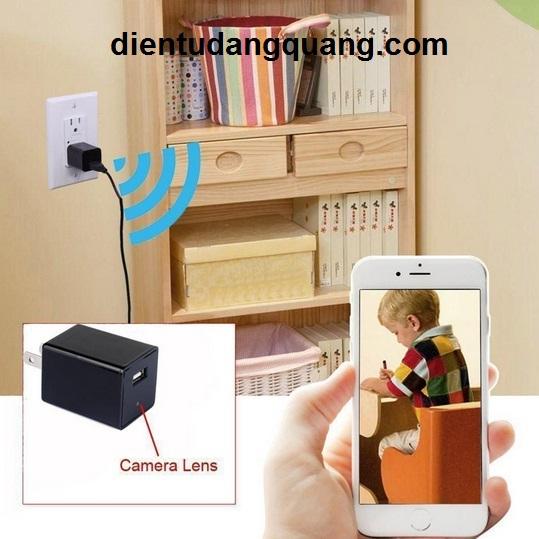 Camera Siêu Nhỏ IP Wifi S09 - Camera IP ngụy trang sạc IPhone xem qua điện thoại  Z995