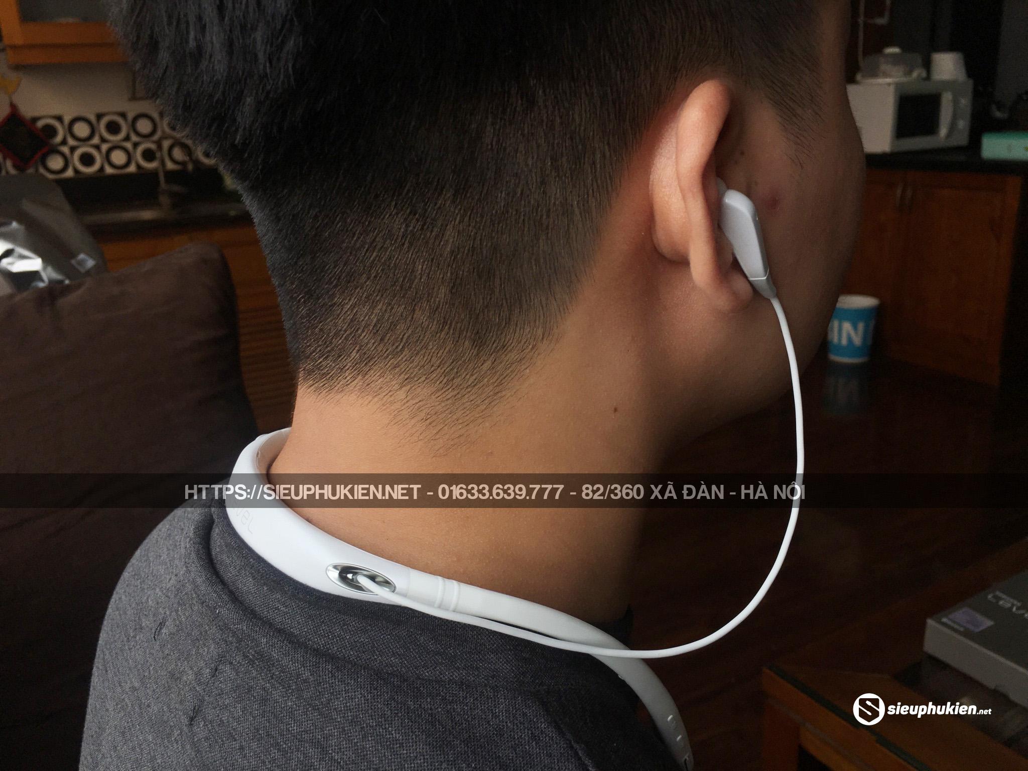 Tai Nghe Samsung Level U Pro  ANC Chính Hãng (Trắng)
