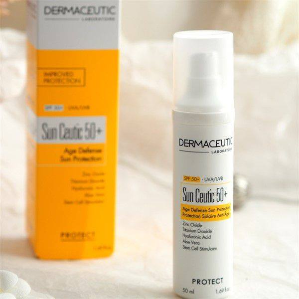 KEM CHỐNG NẮNG DERMACEUTIC SUN CEUTIC SPF50