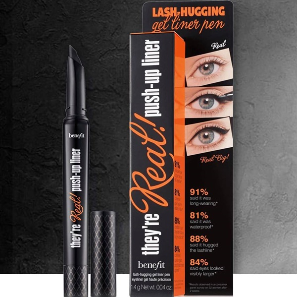 KẺ MẮT BENEFIT THEY'RE REAL PUSH UP LINER
