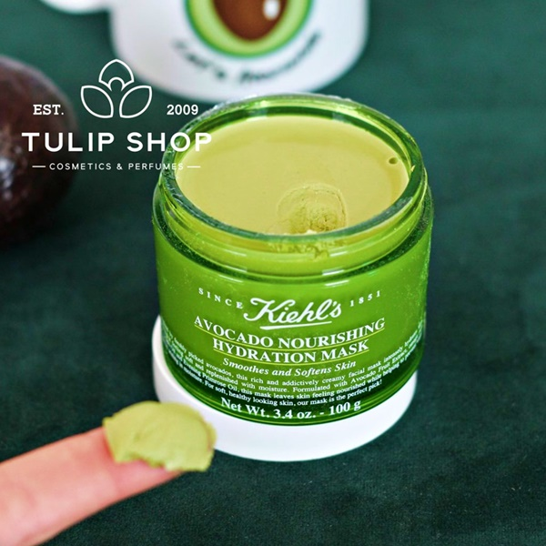 MẶT NẠ KIEHL AVOCADO NOURISHING HYDRATION MASK
