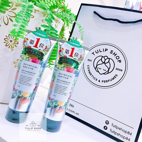 GEL TẨY TRANG BOTANICAL MARCHE HOT CLEANSING