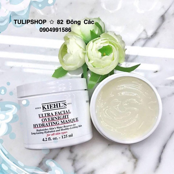 MẶT NẠ NGỦ KIEHL'S ULTRA FACIAL OVERNIGHT HYDRATING