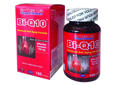 TPCN: Bi-Q10 Capsule 100 tablets - Cardiovascular, Stabilized Blood Pressure